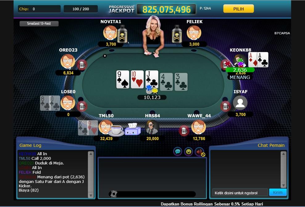 Poker In game