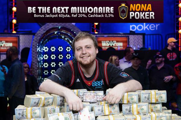 Pemenang turnamen poker WSOP 2015 Joe