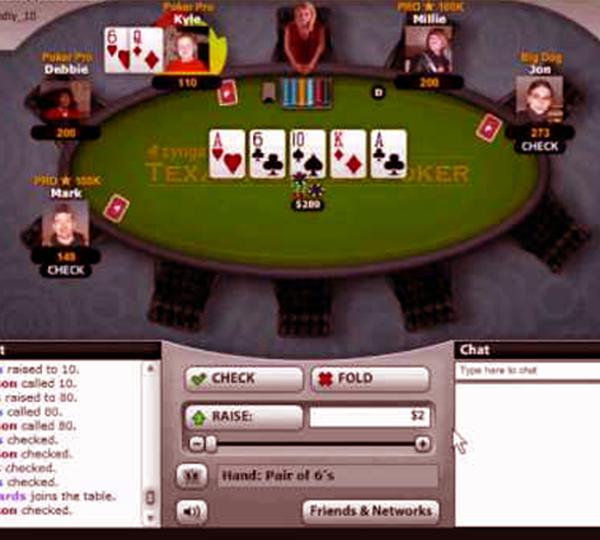 Daftar holdem poker