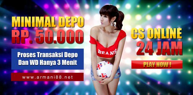 Agen Bola Terbaik Terpercaya Casino Online Indonesia Armani88 slide